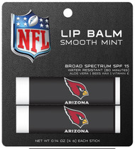 Arizona Cardinals Lip Balm 2pk