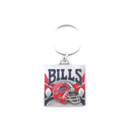 Buffalo Bills Pewter Square Keychain