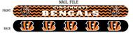 Cincinnati Bengals Nail File