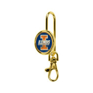 University of Illinois Finders Key Purse Key Chain