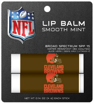 Cleveland Browns Lip Balm 2pk