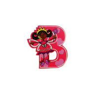 Self Adhesive Wooden Fairy Letter B by The Toy Workshop
