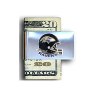 Baltimore Ravens Pewter Emblem Money Clip