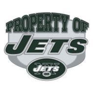 New York Jets Property Of Cloisonne Pin