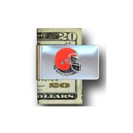 Cleveland Browns Pewter Emblem Money Clip