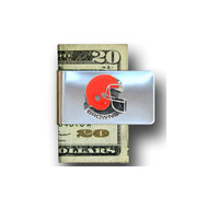 Cleveland Browns Pewter Emblem Money Clip