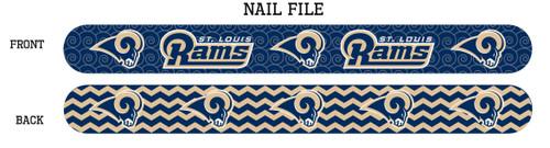 St. Louis Rams Nail File