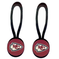 Kansas City Chiefs Zipper Pull (2-Pack)