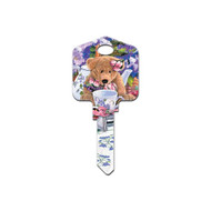 Artisan Collection Teddy Bear Schlage SC1 House Key