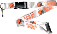 Cleveland Browns Lanyard Keychain