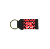 University of Nebraska Chevron Keychain