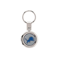 Detroit Lions Domed Metal Key Chain
