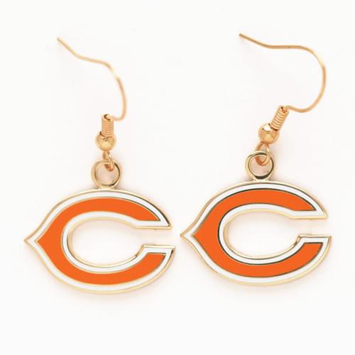 Chicago Bears Dangle Earrings