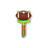 Football Schlage SC1 House Key