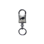 Buffalo Bills Laser Etched Valet Keychain