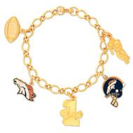 Denver Broncos Charm Bracelet
