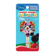 Minnie Mouse Clubhouse Kwikset KW1 House Key