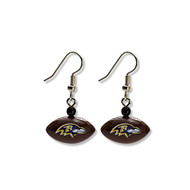 Baltimore Ravens Football Dangle Earrings