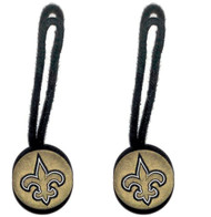 New Orleans Saints Zipper Pull (2-Pack)