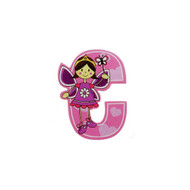 Self Adhesive Wooden Fairy Letter C by The Toy Workshop