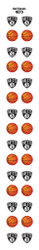 Brooklyn Nets Nail Sticker Decals