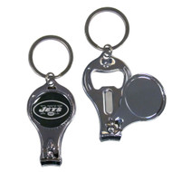New York Jets 3 in 1 Keychain