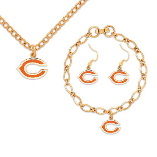 Chicago Bears Jewelry Gift Set
