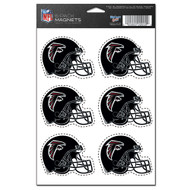 Atlanta Falcons 6-Pack Magnet Set