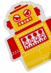 Yellow Jumbo Robot Eraser