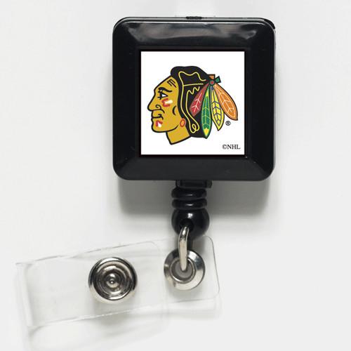 Chicago Blackhawks Retractable Badge Holder