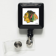 Chicago Blackhawks Retractable Badge Holder