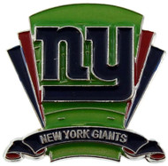 New York Giants Logo Field Lapel Pin