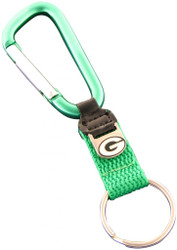 Green Bay Packers Carabiner Keychain