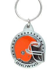 Cleveland Browns Pewter Keychain