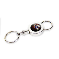 Baltimore Ravens Quick Release Valet Keychain