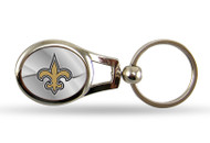 New Orleans Saints Oval Keychain