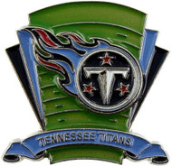 Tennessee Titans Logo Field Lapel Pin