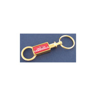 Arizona Cardinals Gold Tone Valet Keychain