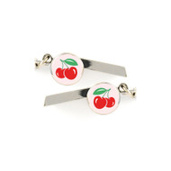 Cherries Safety Whistle Keychain - 067