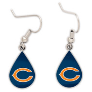 Chicago Bears Tear Drop Earrings