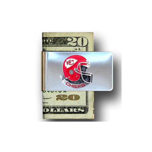 Kansas City Chiefs Pewter Emblem Money Clip