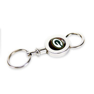 Green Bay Packers Quick Release Valet Keychain