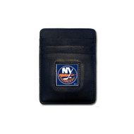 New York Islanders Leather Money Clip