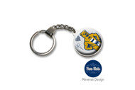 Penn State  Double Domed Keychain
