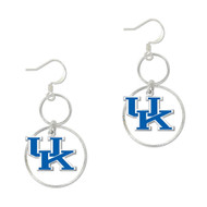 University of Kentucky Round Hoop Earrings