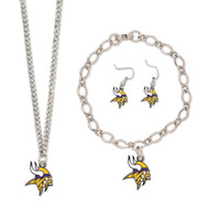 Minnesota Vikings Jewelry Gift Set