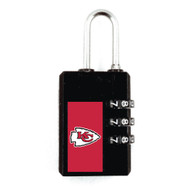 Kansas City Chiefs Luggage Security Lock TSA Approved