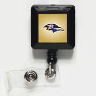 Baltimore Ravens Retractable Badge Holder