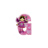 Self Adhesive Wooden Fairy Letter G by The Toy Workshop