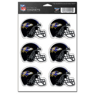 Baltimore Ravens 6-Pack Magnet Set
